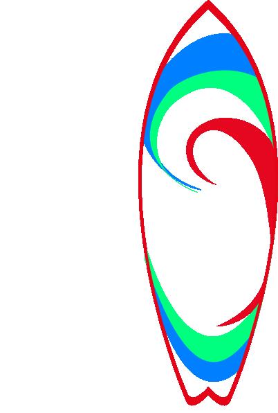 Surfboard Clip Art at Clker.com - 30.0KB