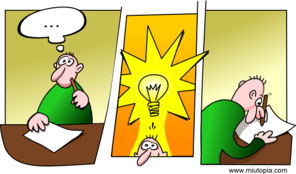 Idea Comic Clip Art
