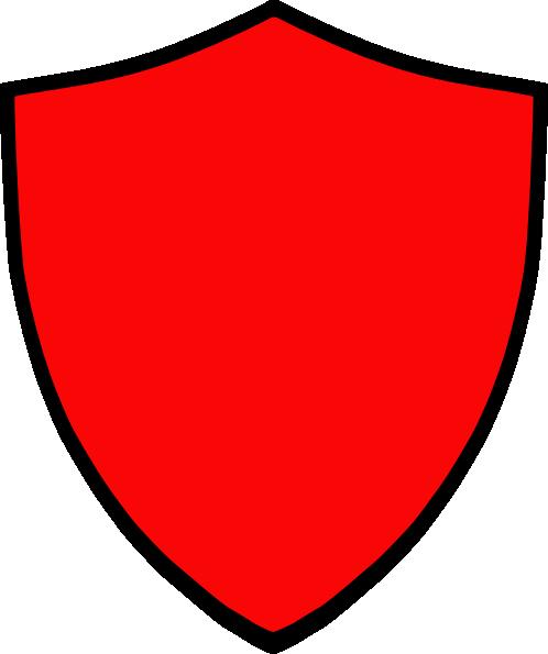 shield red clip art at clker com vector clip art online royalty