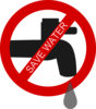 Save Water Clip Art