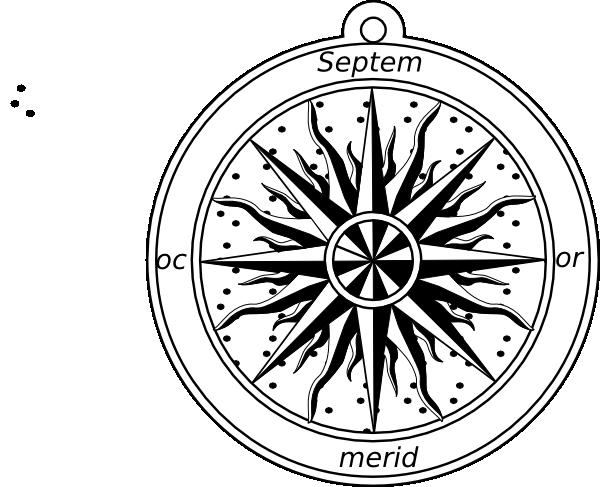 Compass Rose Clip Art at Clker.com - vector clip art online ...