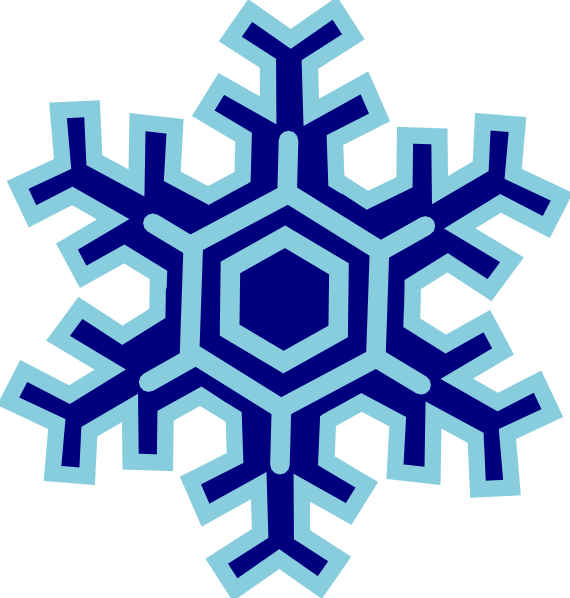 Snowflakes Falling Clipart. Snowflake clip art