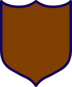 Brown Shield Clip Art