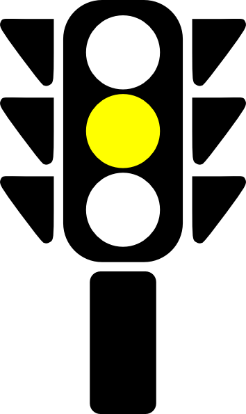 Traffic Semaphore Yellow Light clip artYellow Traffic Light Clip Art