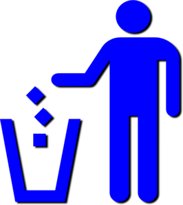 Use Trash Sign Clip Art
