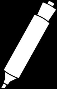 Marker Clip Art at Clker.com - vector clip art online, royalty ...
