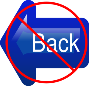 No Back Button Clip Art