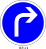Right Turn Clip Art