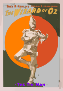 Tin Man For Coms 106 Clip Art