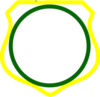 Cornered Shield 2 Clip Art