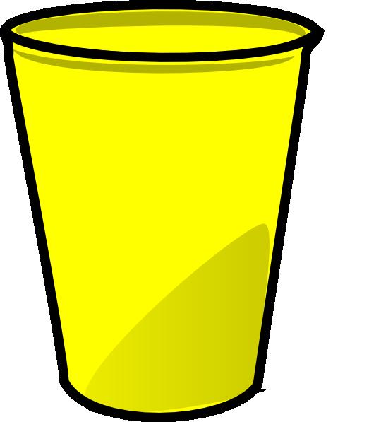 yellow cup clip art at clker com vector clip art online royalty rh clker com cup clipart png clipart cup of tea