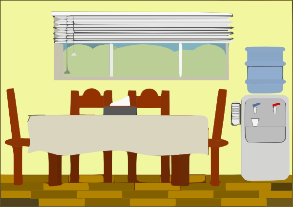 Excellent Dining Room Clip Art 600 x 425 · 44 kB · png
