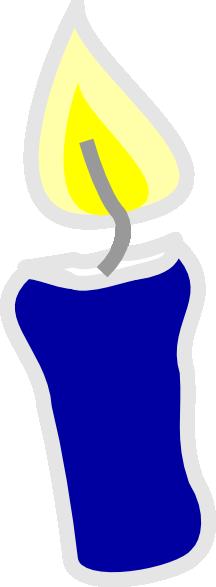 Birthday Candle Clip Art At Clker Com Vector Clip Art
