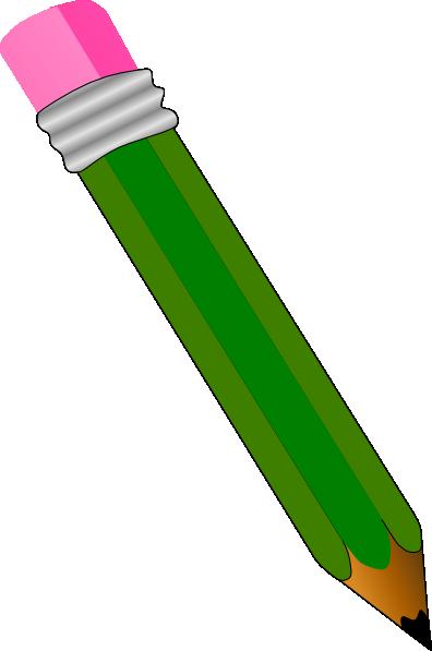 Realistic Pencil Clip