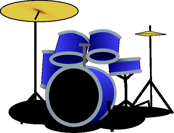 blue drum set clip art at clker com vector clip art online rh clker com drum set clipart black and white drum set player clipart