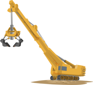 Crane Lifting Clip Art