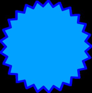 starburst outline clip art at clkercom vector clip art