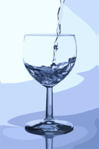 Water Wine Glass Clip Art