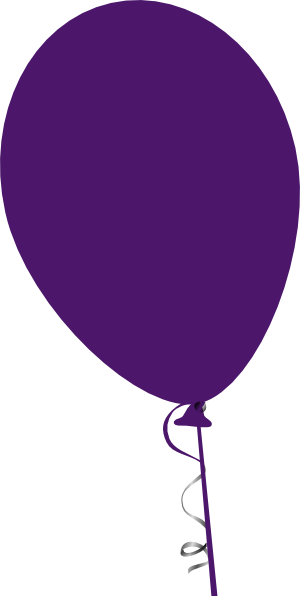 Purple Balloon Clip Art at Clker.com - vector clip art ...