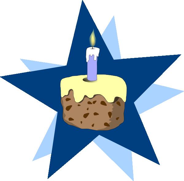Blue Cake Clip Art At Clker Com Vector Clip Art Online