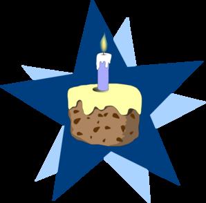Blue Cake Clip Art at Clker.com - vector clip art online ...