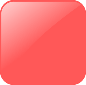 Blank Light Red Button Clip Art