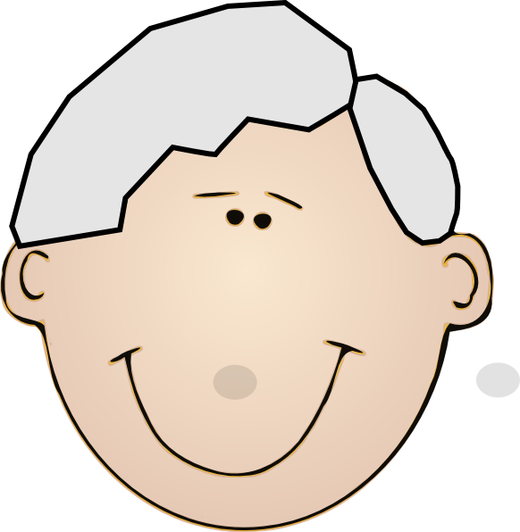 Grandpa Face Clip Art at Clker.com - vector clip art ...