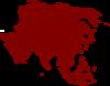 Continent of oceania clip art