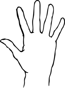 blank hand sign png - photo #33