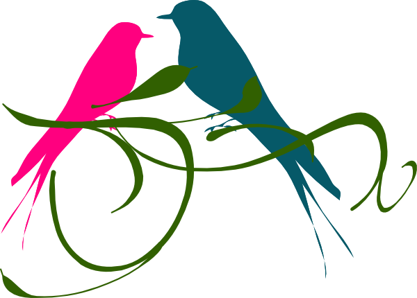 Love bird clip art - photo#23