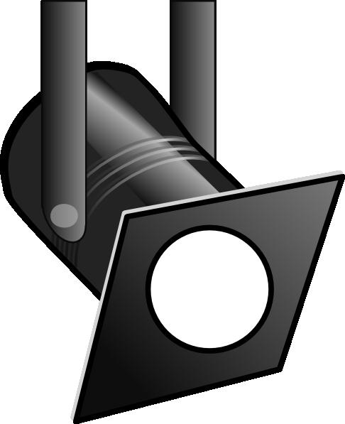 White Spotlight Clip Art at Clker.com - vector clip art ...