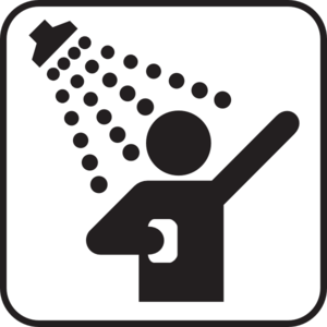 shower clip art at clker com vector clip art online royalty free rh clker com showering clipart shower clipart black and white