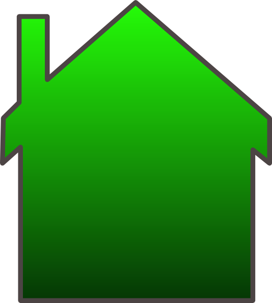 Green House Clip Art At Clker Com Vector Clip Art Online