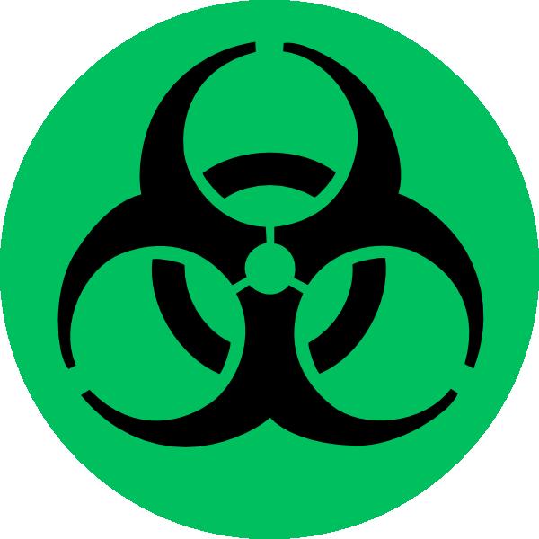 Green Biohazard Clip Art at Clker.com - vector clip art ...