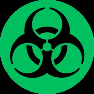 Green Biohazard Clip Art at Clker.com - vector clip art online ...
