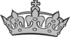 Gray Crown Clip Art