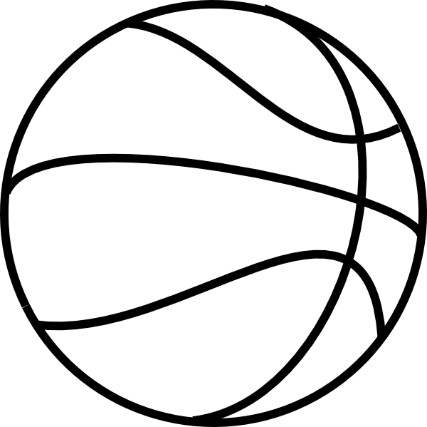 Basketball free colouring pages for Free basketball coloring pages