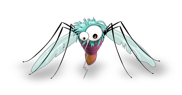 Funny Mosquito Clip Art At Clkercom Vector Clip Art Online