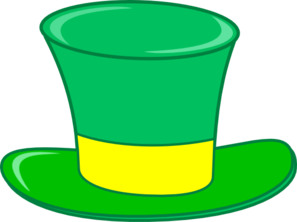 Green Top Hat Clip Art