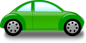Green Car2 Clip Art