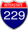 I-229 Sign Clip Art