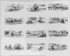 Buffords Comic Sheet No. 419 Rowing Clip Art