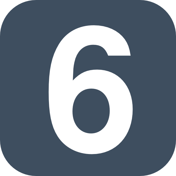 Number 2 Grey Flat Icon Clip Art At Clker Com