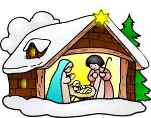 Nativity Scene Clip Art