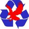 Recycling Eagle Clip Art