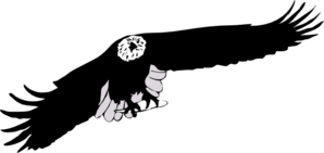 Eagle Black And White Clip Art