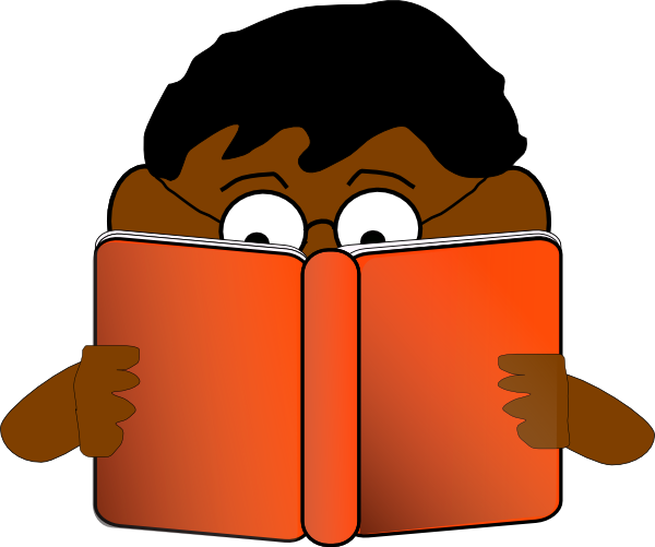 Boy Reading Book Clip Art at Clker.com - vector clip art ...