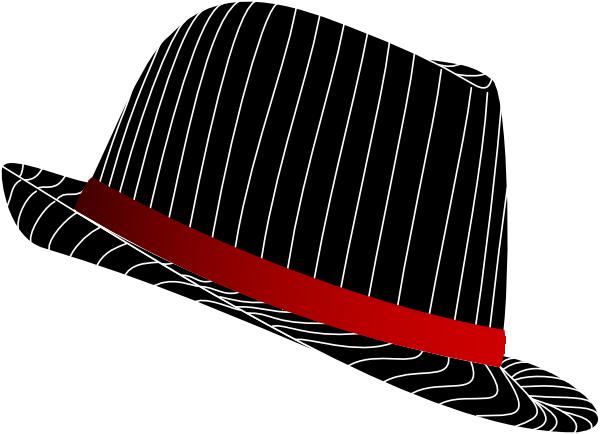 Fedora Hat Clip Art at Clker.com - vector clip art online, royalty ...
