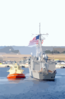 The Guided Missile Frigate Uss Dewert (ffg 45) Arrives Home After Completing A Six Month Deployment Clip Art