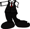 Uniform With Necktie Clip Art
